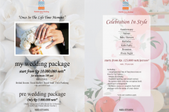 MY WEDDING PACKAGE !!!